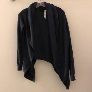 Lululemon blue cardigan, sz 8, 77084